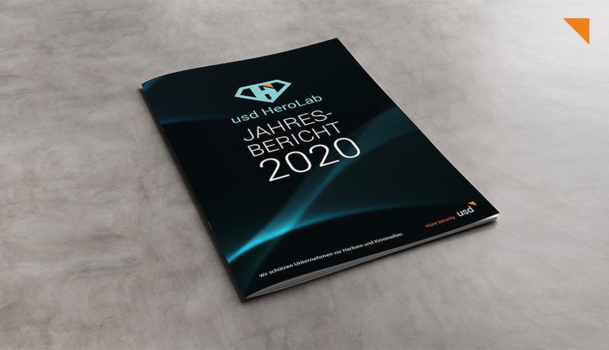 usd HeroLab Jahresbericht 2020: Risiken. Konsequenzen. Mehr Sicherheit